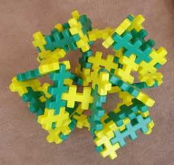 ブロックで作った正八面体