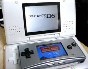 ニンテンドーDSとゲームボーイミクロ