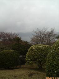 雨降りになってしまいました。